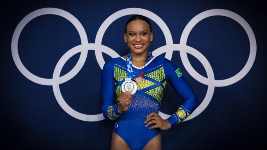 Rebeca Andrade é prata na ginástica artística - Ricardo Bufolin/CBG