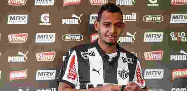 Lateral esquerdo Mansur reintegra o elenco do Atlético-MG na Série A do Brasileirão - Bruno Cantini/Clube Atlético Mineiro