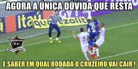 Internautas tiram sarro da derrota do Cruzeiro para o Santos