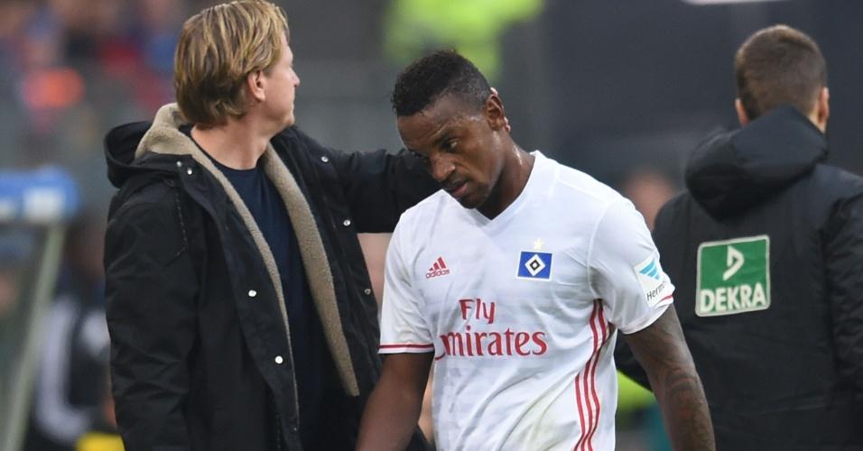 Negociado pelo Corinthians com o Hamburgo, o zagueiro Cleber pode estar de saída do futebol alemão; Santos aparece como possível destino