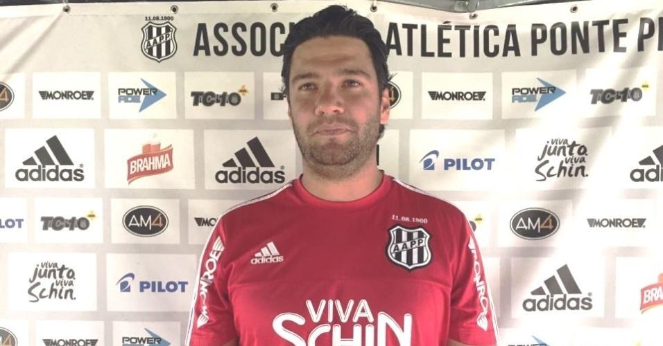 Felipe Moreira, técnico da Ponte Preta