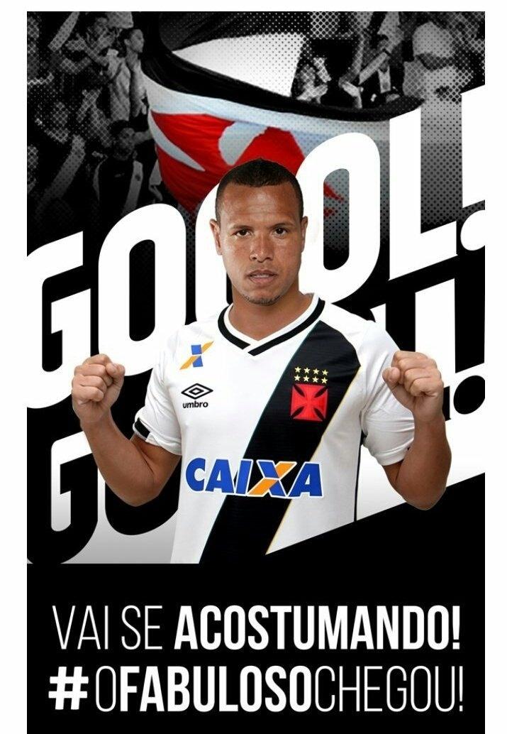 O Vasco anunciou a contratação do atacante Luís Fabiano nesta sexta-feira (17)
