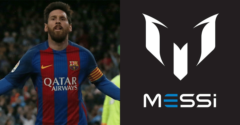 Logomarca do Messi