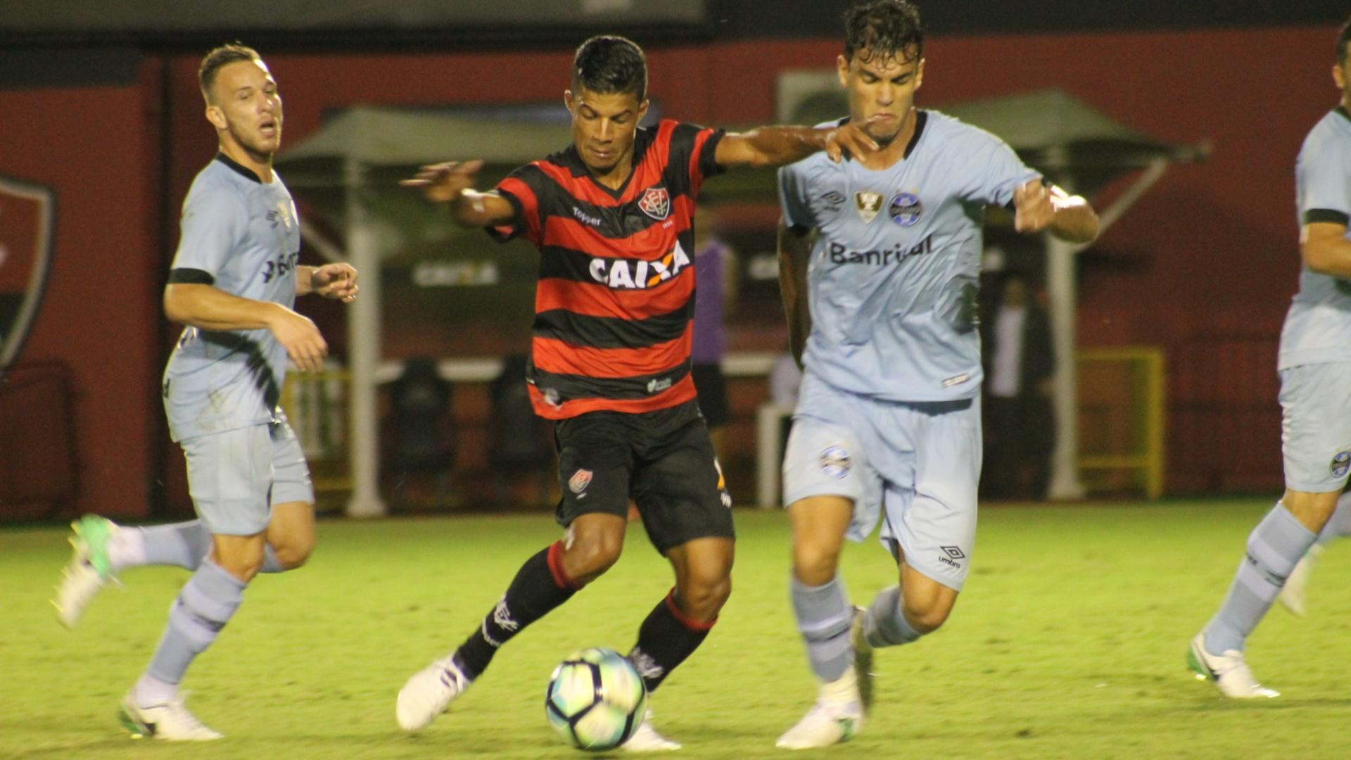 Vitória e Grêmio se enfrentam no Barradão