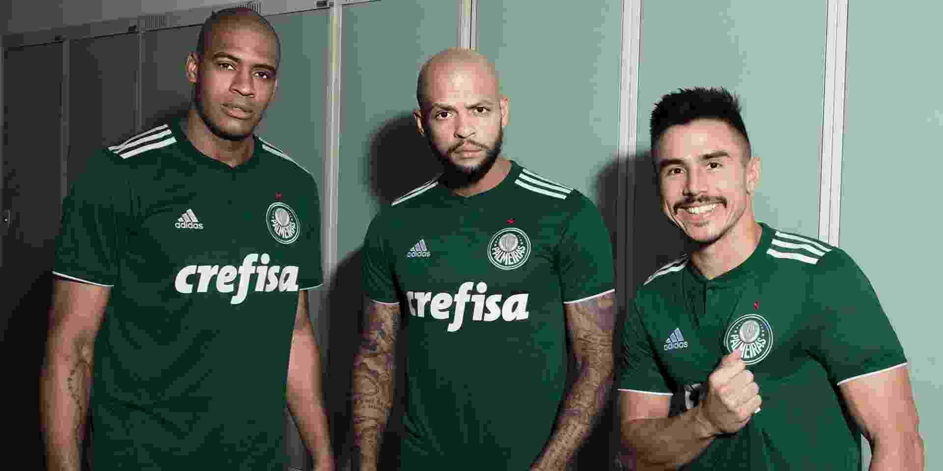 Palmeiras apresenta seu novo uniforme - Palmeiras/Oficial