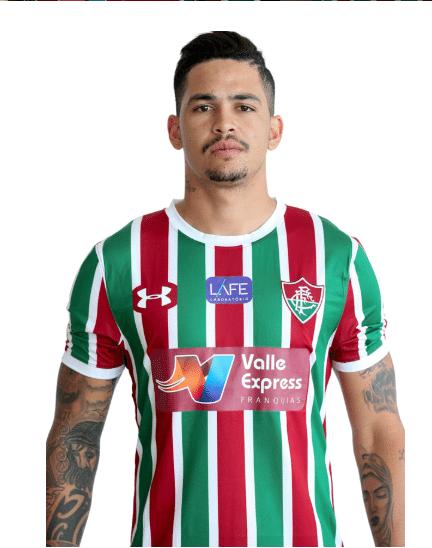 Luciano, atacante do Fluminense