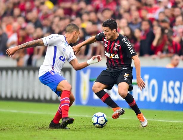 Bahia e Atlético-PR iniciam disputa brasileira por uma vaga na semifinal da Copa Sul-Americana -  Jason Silva/AGIF
