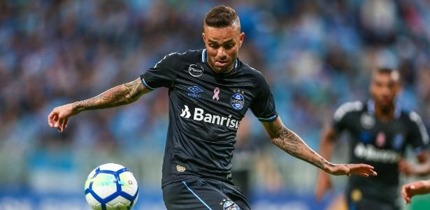 Luan poderá voltar a jogar pelo Grêmio na partida contra o Vasco, domingo
