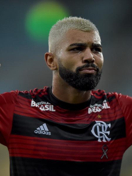 Gabigol comemora seu segundo gol na partida do Madureira contra o Flamengo - Thiago Ribeiro/AGIF