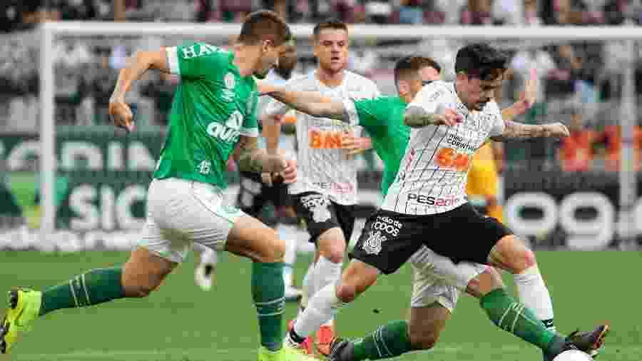 Corinthians e Chapecoense vão se enfrentar em jogo adiado da 21ª rodada do Brasileirão - Marcello Zambrana/AGIF