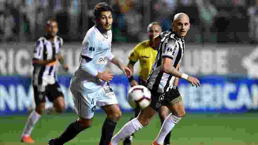 Botafogo revê o Atlético-MG após ser eliminado pelos mineiros na Copa Sul-Americana - DOUGLAS MAGNO / AFP