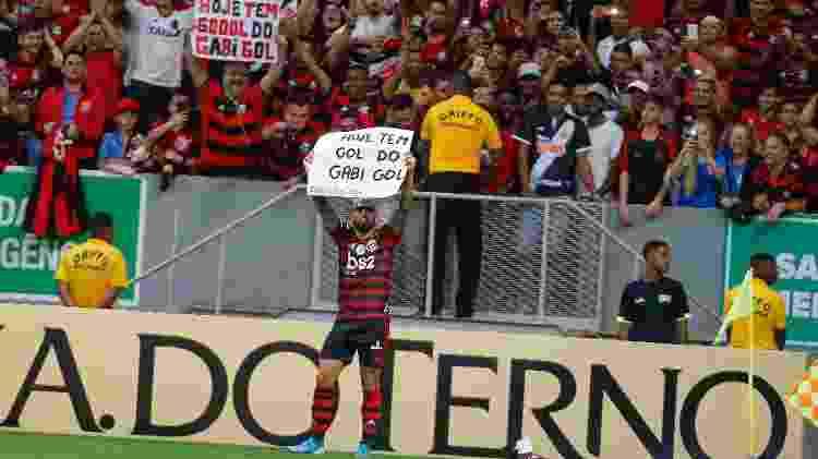 Gabigol celebra gol do Flamengo no clássico com o Vasco - Alexandre Vidal / Flamengo - Alexandre Vidal / Flamengo