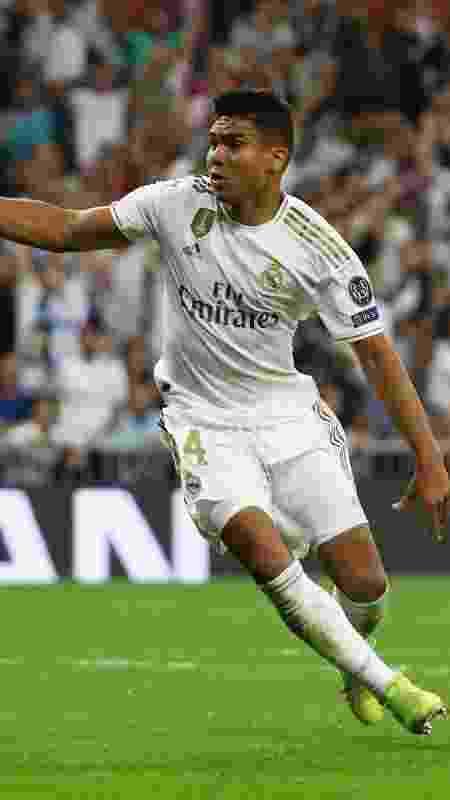 Casemiro durante o jogo Real Madrid x Club Brugge pela Liga dos Campeões - REUTERS/Jon Nazca - REUTERS/Jon Nazca