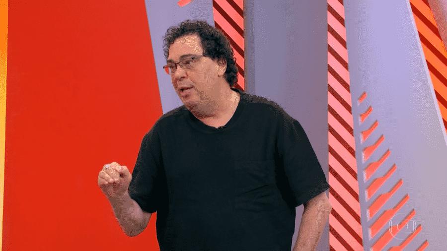Casagrande participa do Globo Esporte - Reprodução/TV Globo