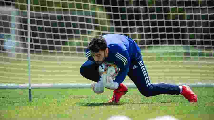 Rafael, ex-goleiro do Cruzeiro, está na mira do Atlético-MG no mercado da bola - Bruno Haddad/Cruzeiro