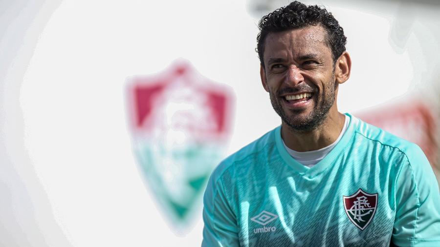 Fred fará sua reestreia pelo Fluminense no retorno do Campeonato Carioca - Lucas Mercon/Fluminense FC