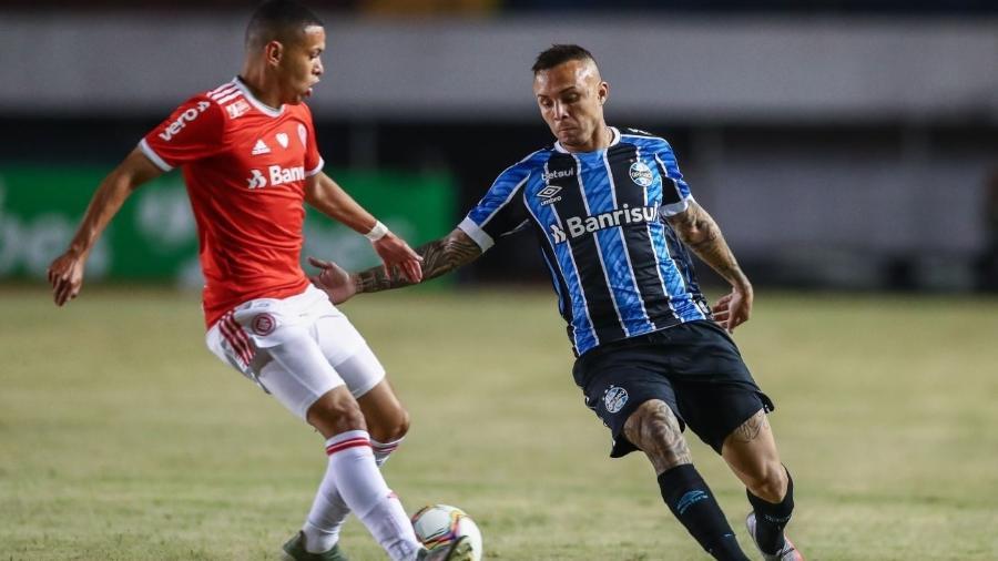 Grêmio e Inter se enfrentaram em Caxias do Sul após veto da prefeitura de Porto Alegre - Lucas Uebel/Grêmio FBPA