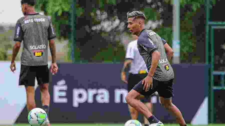 Matías Zaracho é uma das contratações mais caras da história do Atlético-MG - Pedro Souza/Atlético-MG