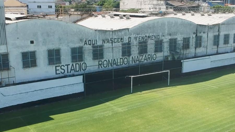 Estádio Ronaldo Nazário, do São Cristóvão, precisa passar por reformas para voltar a receber jogos oficiais - Reprodução/YouTube