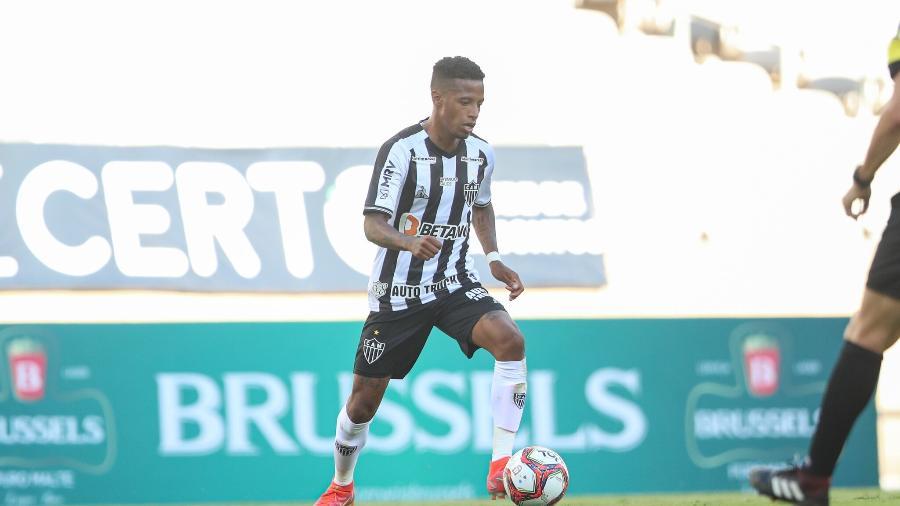 Tchê Tchê foi indicado ao Galo pelo técnico Cuca e pode fazer segundo jogo como titular neste domingo - Pedro Souza/Atlético-MG