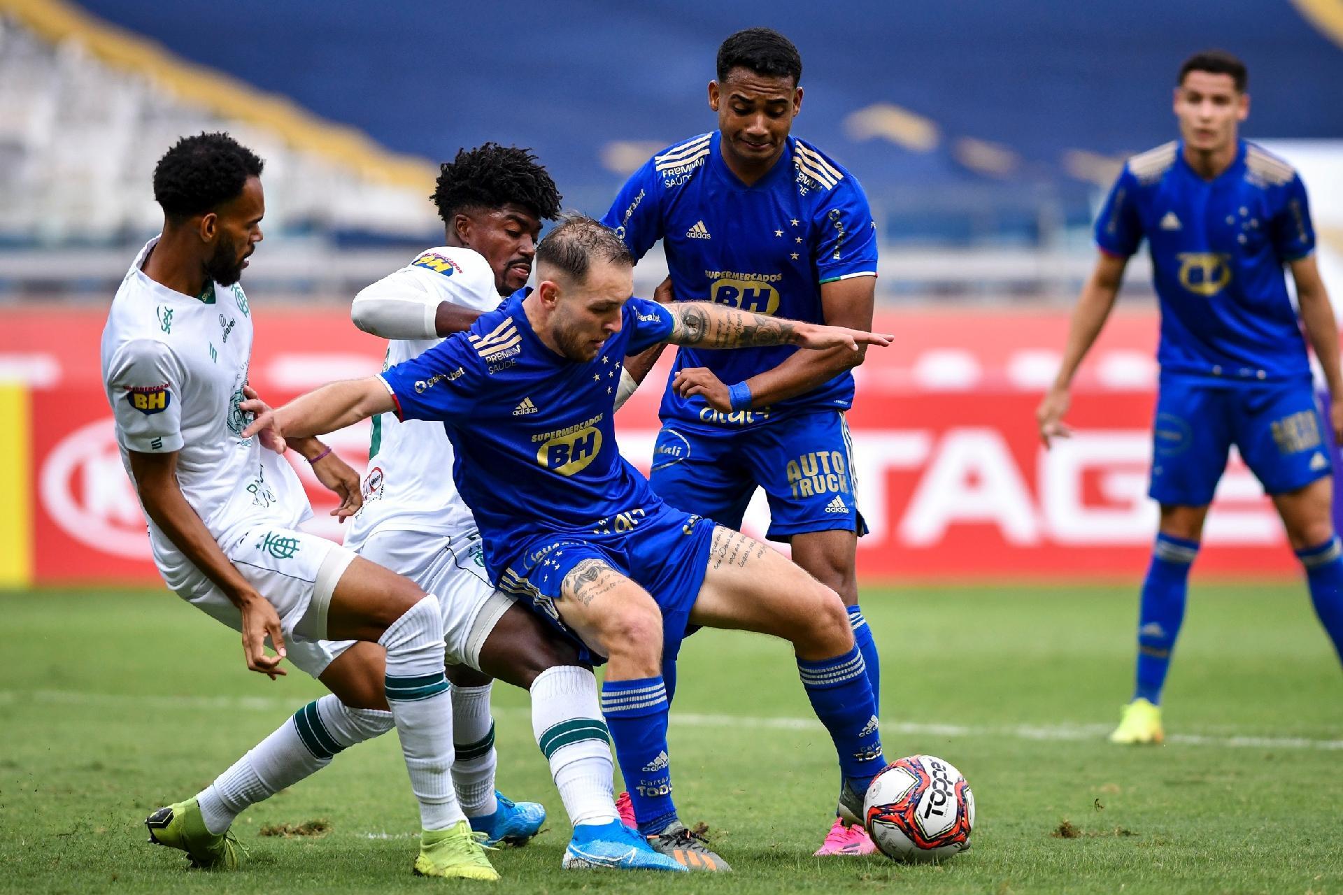 Cruzeiro Leva Virada Do America Mg Na Semifinal Do Campeonato Mineiro