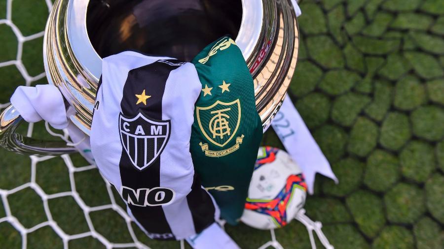 Atlético-MG e América-MG decidem neste sábado quem será o campeão mineiro 2021, em duelo disputado no Mineirão - Agência I7/Mineirão