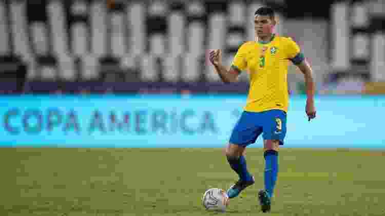 Thiago Silva - Lucas Figueiredo/CBF - Lucas Figueiredo/CBF
