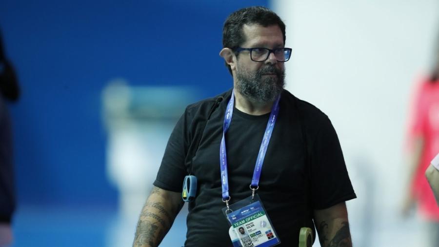 Alberto Silva, técnico da natação brasileira - Satiro Sodré/SSPress/CBDA