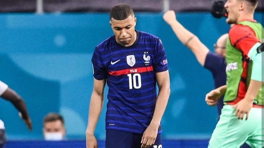 Mbappé se desculpa por pênalti perdido em eliminação da França na Eurocopa - Reprodução/Instagram