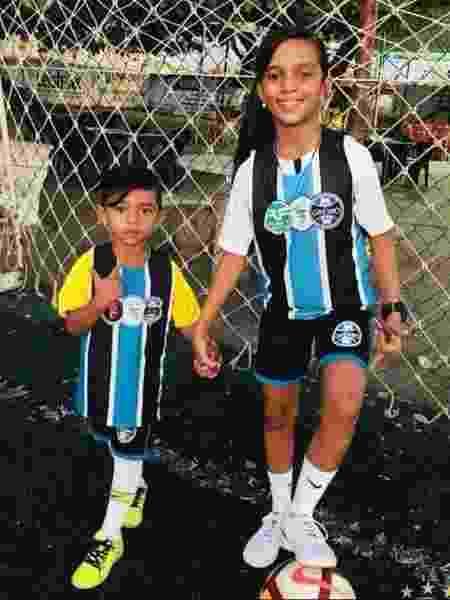 Futebol - Escola Futebol Oficial Grêmio FBPA Imperatriz/Divulgação - Escola Futebol Oficial Grêmio FBPA Imperatriz/Divulgação