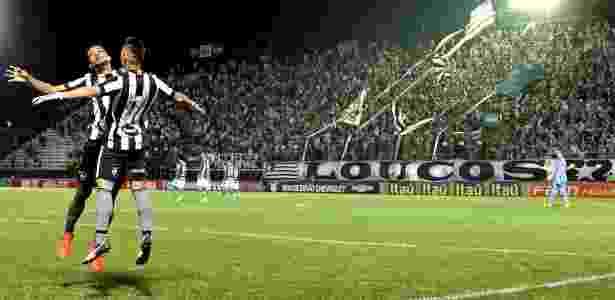 Neílton comemora gol do Botafogo diante do Palmeiras - Vitor Silva/SS Press - Vitor Silva/SS Press
