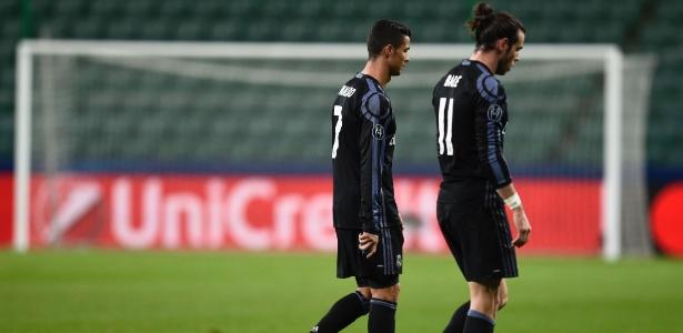 Com o empate, o time de Cristiano Ronaldo e Bale caiu para a 2ª colocação no grupo F