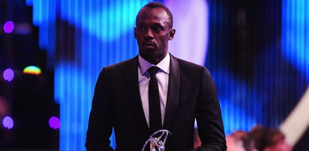 Bolt recebeu prêmio Laureus de melhor atleta do ano na última terça-feira