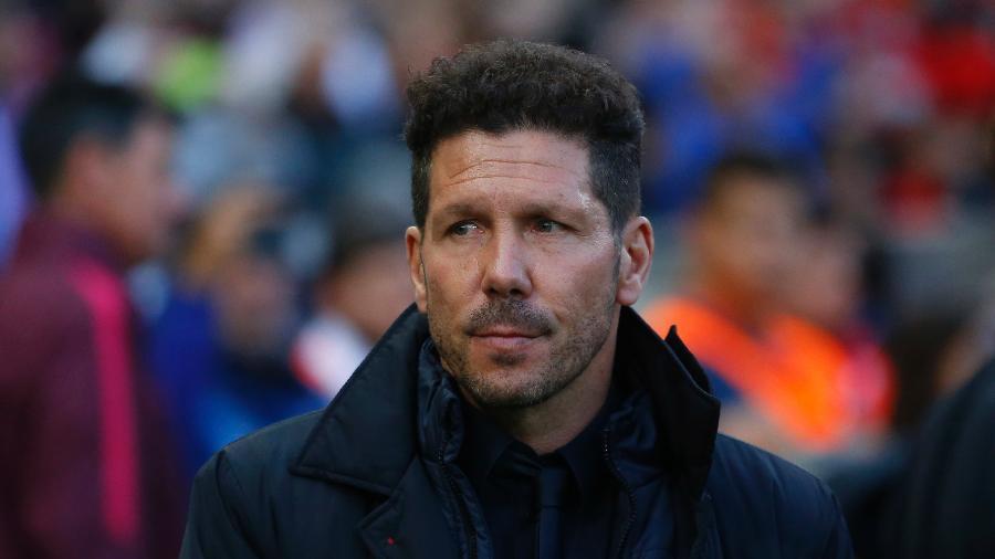 Diego Simeone disse que continuará no Atlético de Madri - Reuters / Juan Medina