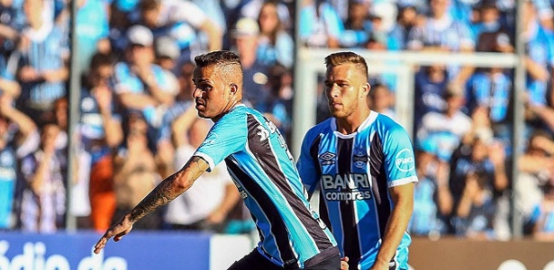 Luan e Arthur são os dois jogadores mais valorizados do Grêmio após 2017