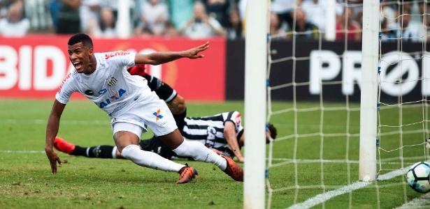 Gol contra o Atlético-MG foi o único marcado por Arthur Gomes na equipe profissional