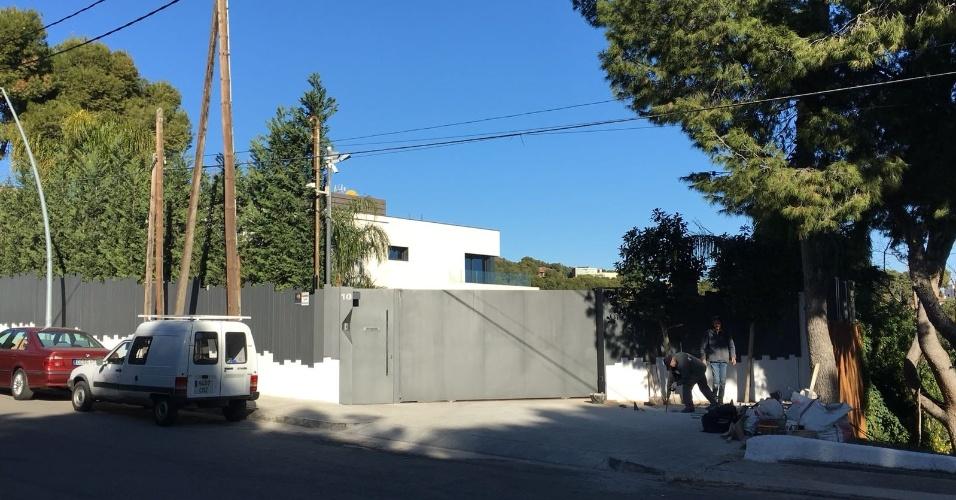 Casa de Suarez, em Bellamar, bairro de luxo em Casteldefells (Barcelona)