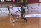 Jogador do Atlântico vira o joelho em disputa de bola e sofre lesão feia - reprodução/SporTV