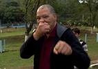 Maguila melhora após tratamento de 8 meses e quer doar cérebro após morte - Reprodução/TV Globo