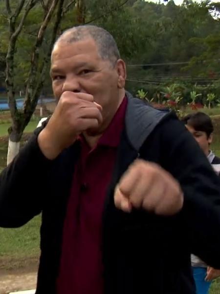 Maguila, ex-lutador de boxe - Reprodução/TV Globo