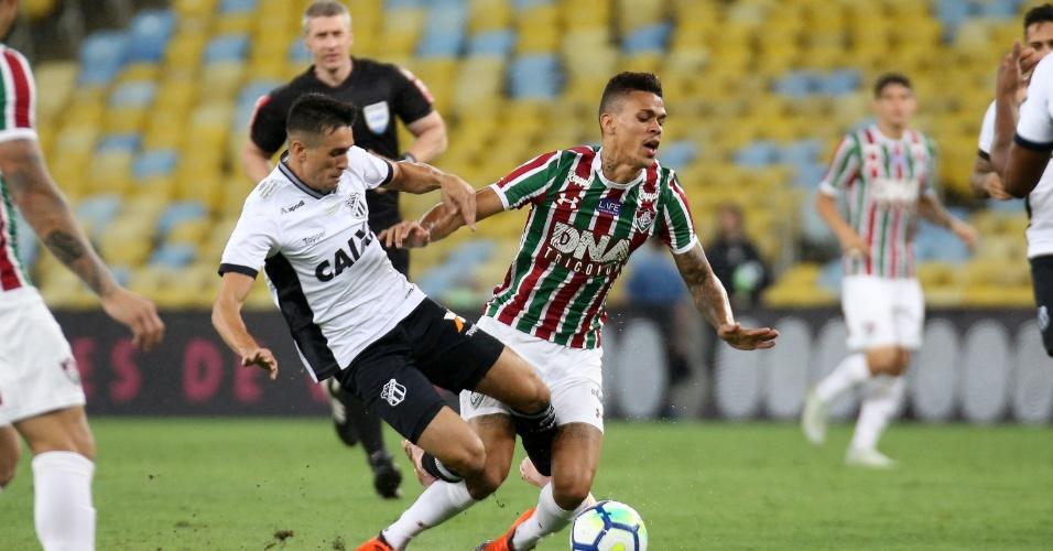 Richard, durante partida entre Fluminense e Ceará