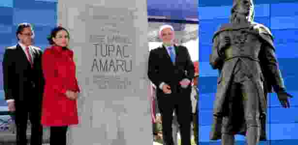 Tupac Amaru - Governo do Peru - Governo do Peru