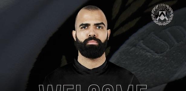 Sandro foi anunciado pela Udinese - Divulgação/Udinese