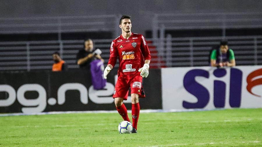 Cleiton, goleiro do Atlético-MG, está próximo de um acordo com o Red Bull Bragantino - Bruno Cantini/Divulgação/Atlético-MG