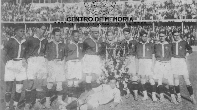 """""""Camisas Negras"""": time de 1923 que conquistou 1º título carioca do Vasco e que era formado por negros e operários - Centro de Memória do Vasco"""