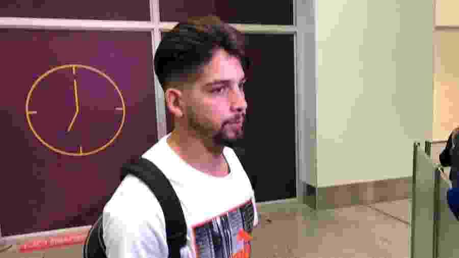 Meia argentino Martín Benítez desembarca no Rio de Janeiro para realizar exames e assinar contrato com o Vasco - Wellington Campos / Rádio Itatiaia
