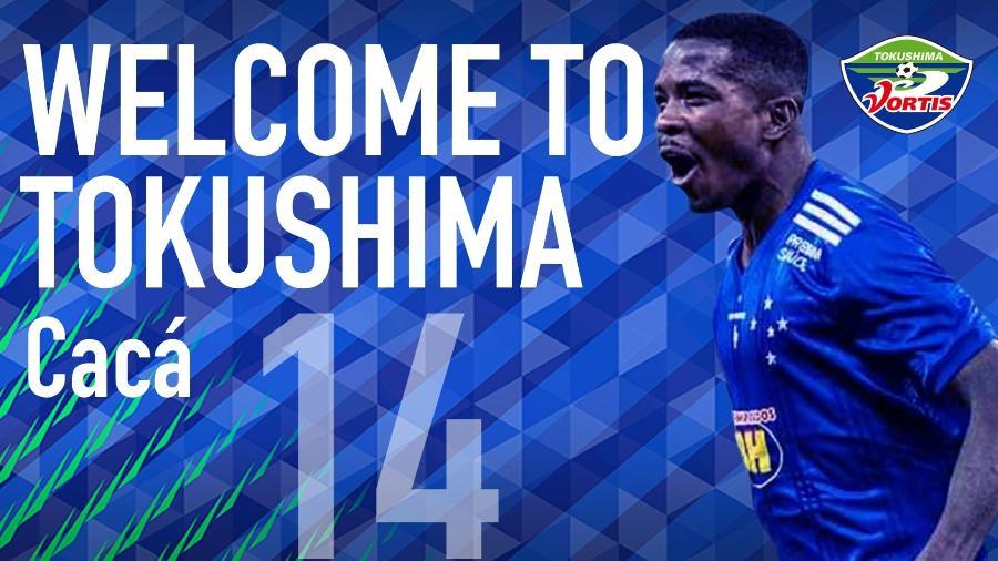 Revelado pelo Cruzeiro, Cacá assina contrato de quatro anos com clube japonês - Divulgação