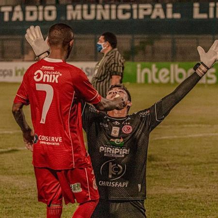 Jailson marcou o primeiro gol de pênalti da carreira e foi herói na Copa do Brasil - Divulgação/4 de Julho