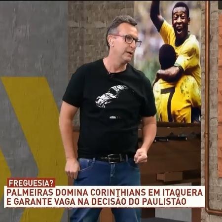 Neto novamente não poupou críticas ao Corinthians, nos Donos da Bola - Reprodução/TV Bandeirantes