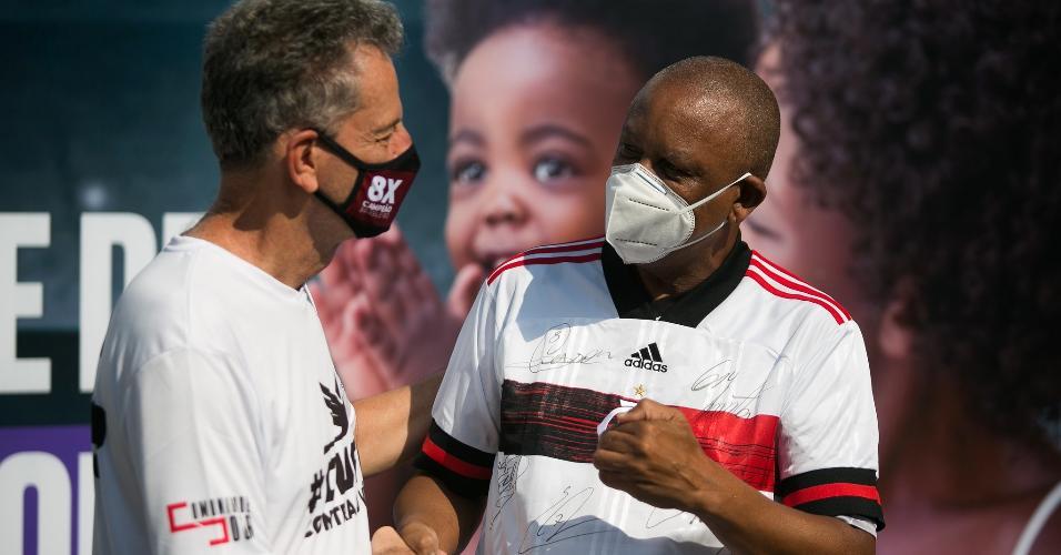 Em parceria com a Cufa, Flamengo arrecadou doações no Maracanã, no último sábado (26)